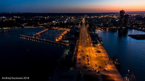 Gdynia Nocą - Port