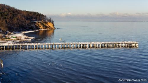 Gdynia Orłowo - zimą