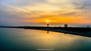 Wchód Słońca w Rewie