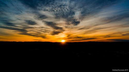 Zachód Słońca - Gdynia